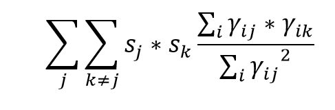 Calculating MHHI with triple summation - Statalist